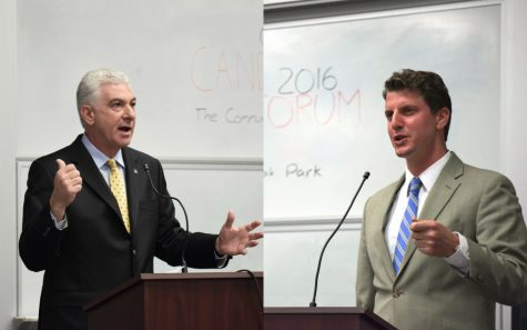 Oak Park nurtures political process, hosts Senate debate