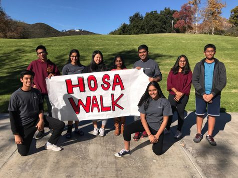 HOSA raises funds, awareness in charity walk