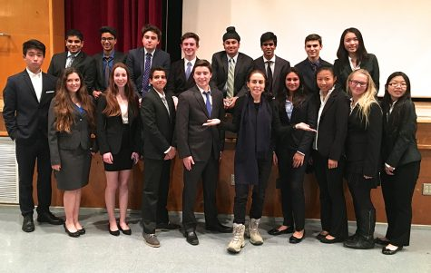 Debate team captains qualify for state
