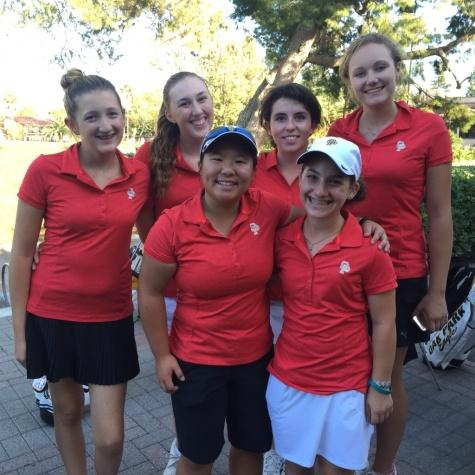 Girls' golf aims for league title