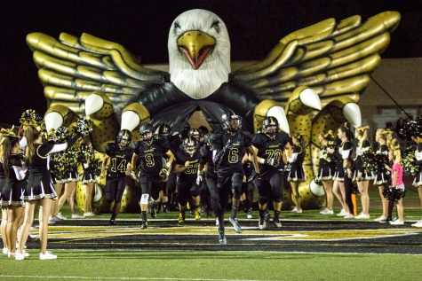 Eagles football powers ahead