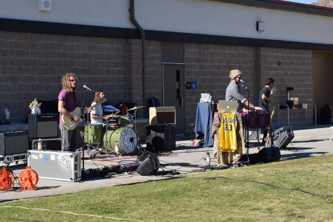 Givers and Takers performs on Great Lawn