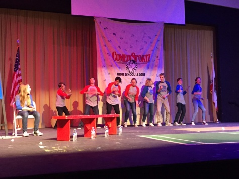 Students, teachers 'feud' in game show