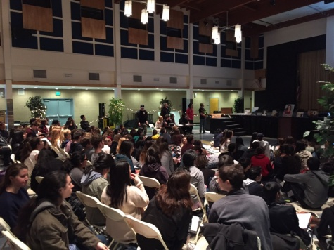 Slam Poetry Night features artwork, performances by students