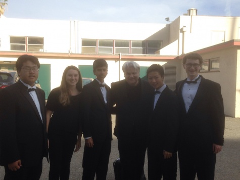 5 students selected for county honor band
