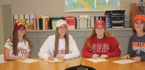 Four girls' soccer players commit to college teams