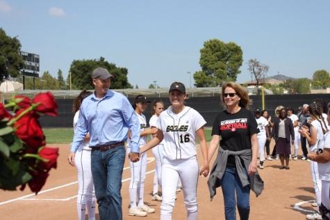 Softball seniors throw final pitch