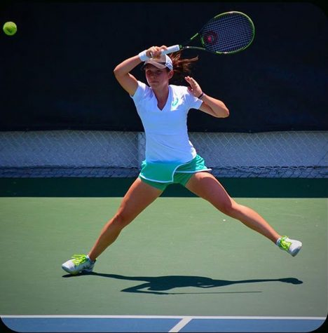 Annette Goulak earns top rank in California Tennis