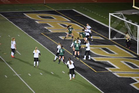 Varsity girl's soccer team sees new players on the rise