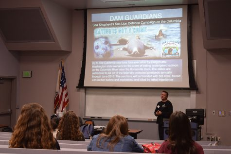 Sea Shepherd member discusses organization, goals for future