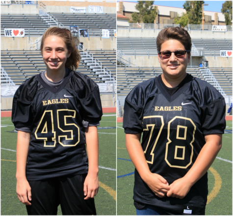 Football team adds 2 female players