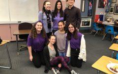 Students wear purple to remember Gabriella Chabot