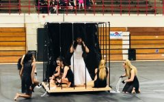 Oak Park Winter Guard Prepares for Upcoming Competitions