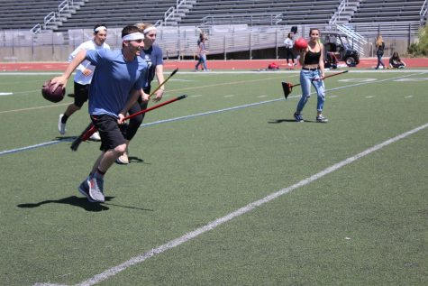Seniors compete in annual Quidditch tournament