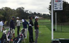 Austin Liu competes in the 2018 U.S. Amateur Golf Tournament