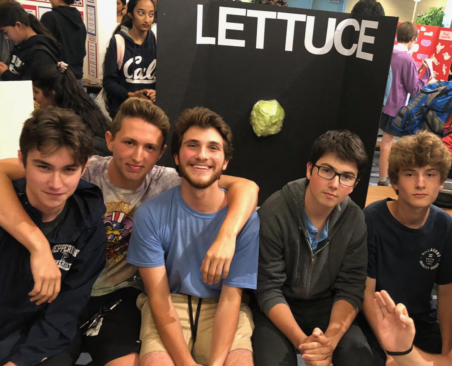 Lettuce club's first club week, resulting in 243 sign-ups