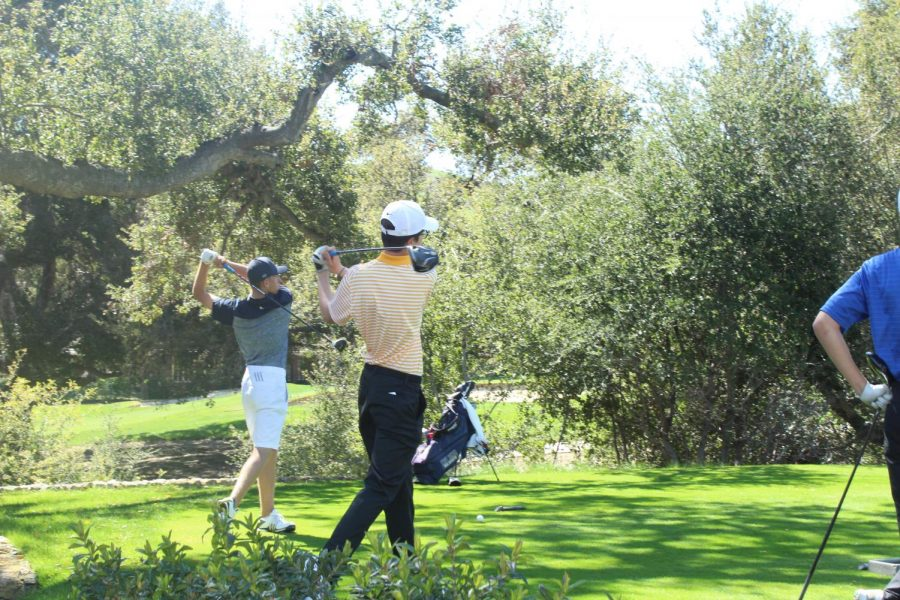 Boys+Golf+Team+posing+in+front+of+North+Ranch+Country+Club+prior+to+the+Oak+Park+Invitational+where+the+team+took+1st+place.%E2%80%9D+and+here+are+the+names+left+to+right+%3A+Gylles+Alford%2C+Trevor+Meikle%2C+Ishan+Vallamsetty%2C+Hunter+Keaster%2C+Kyle+Bessey%2C+Nicolai+Cascione%2C+Kelly+Dobson%2C+Luke+Tribe%2C+Luke+Basile%2C+Darren+Chiu%2C+and+Austin+Liu.
