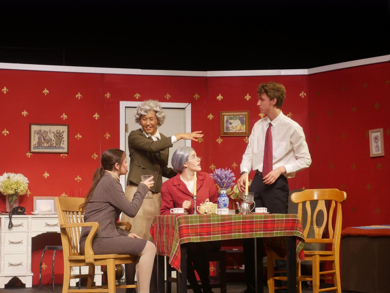 Senior Navya Hari directed the last play of the school year,