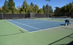 Tennis courts to be resurfaced