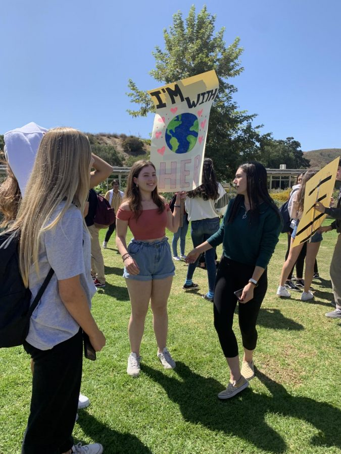 Students+follow+Greta+Thunberg%27s+lead+by+walking+out+of+their+classes+with+hand-crafted+signs+and+chants.+