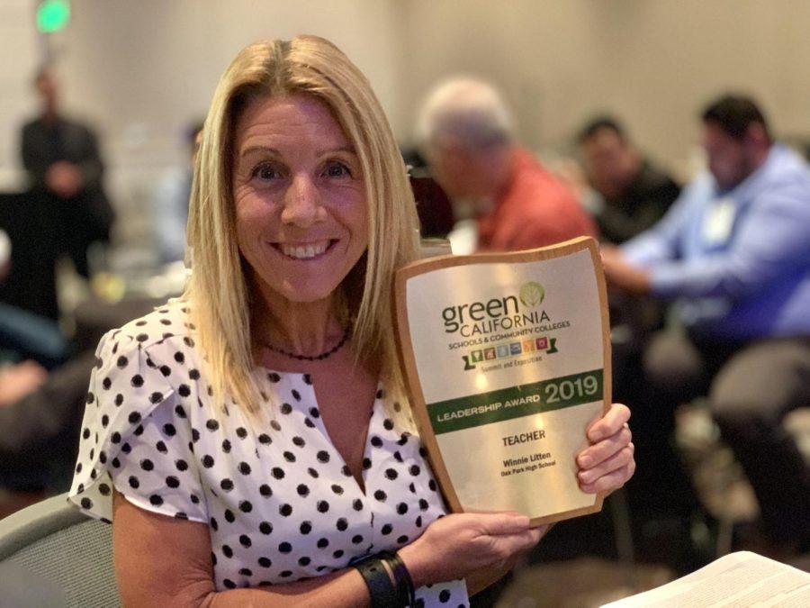 Litten wins teacher leadership award