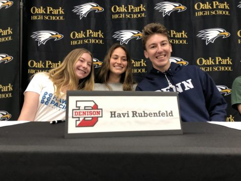 Senior athletes sign to colleges
