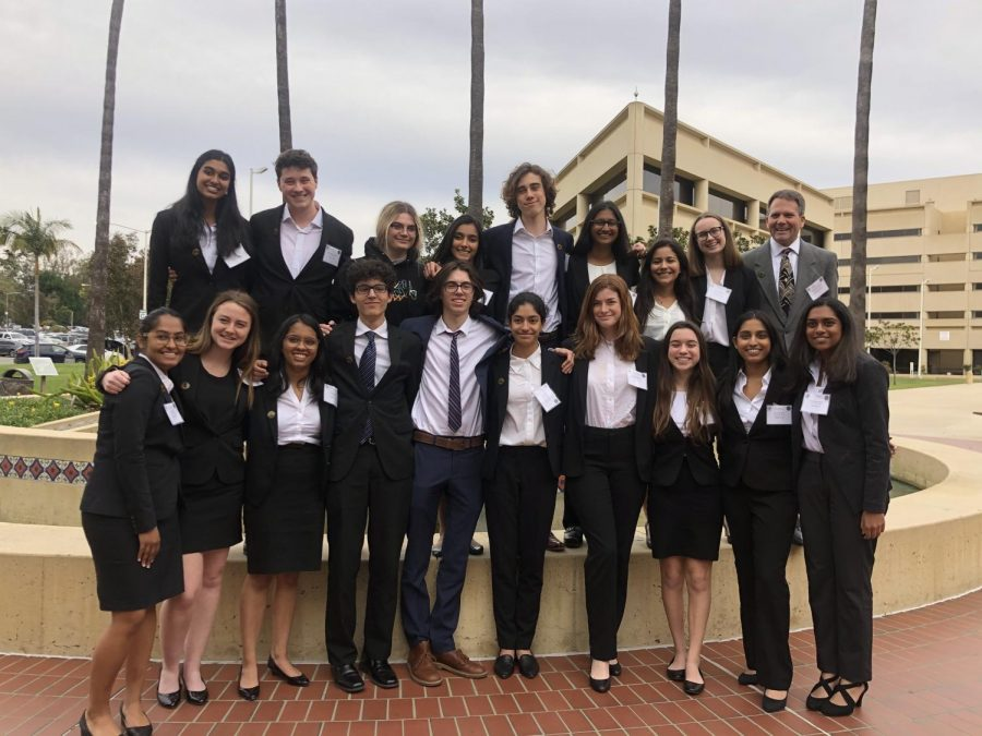 Mock Trial teams makes school history