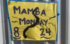Mamba Monday starts off spirit week