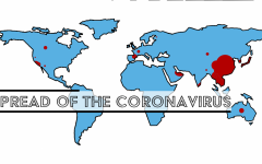 Coronavirus spreads internationally