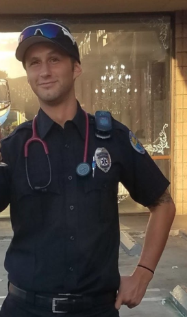 Sandro Cima (pictured)is an Oak Park resident and EMT.