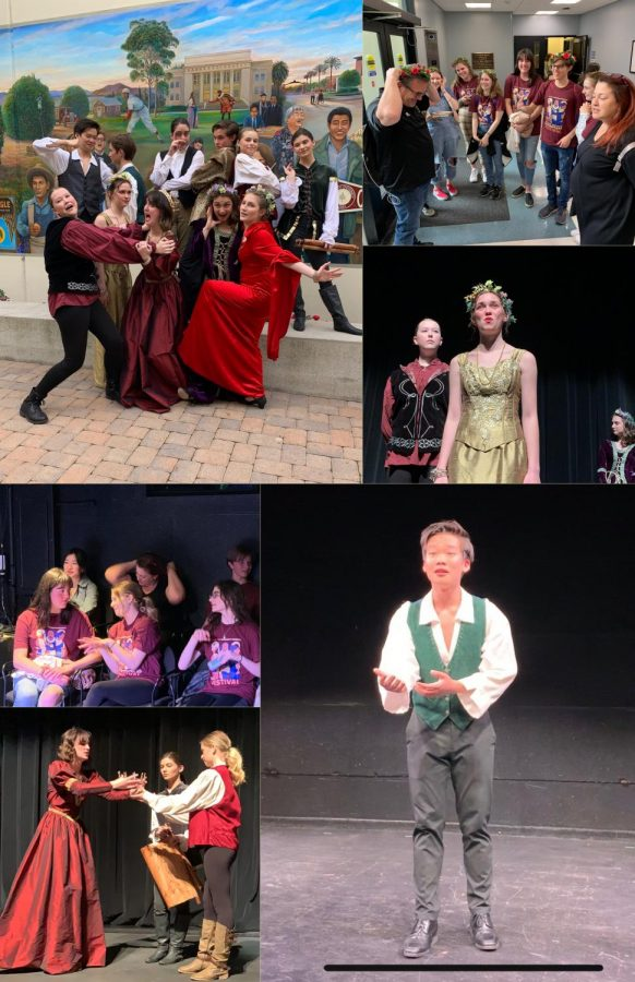Shakespeare in the Quad: Thespians of OPHS Perform in Chapfest
